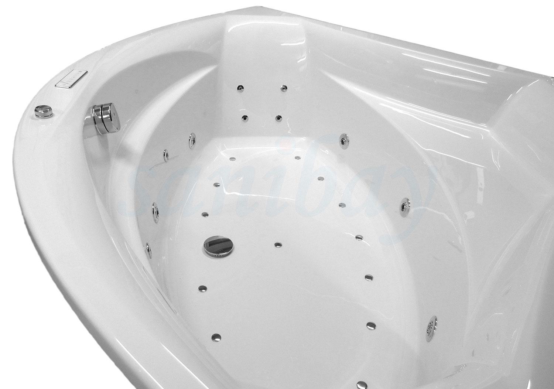 Beispiel 2 Badewanne mit Whirlpool Comfort