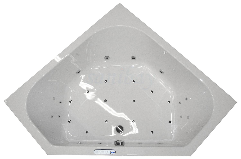 Beispiel 5 Badewanne mit Whirlpool Maxi-Deluxe