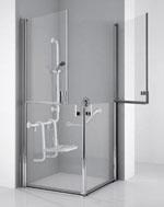 Beispiel behindertengerechte Dusche