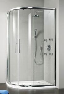 Beispiel gerahmte Dusche